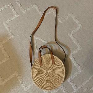 H&M paper straw bag